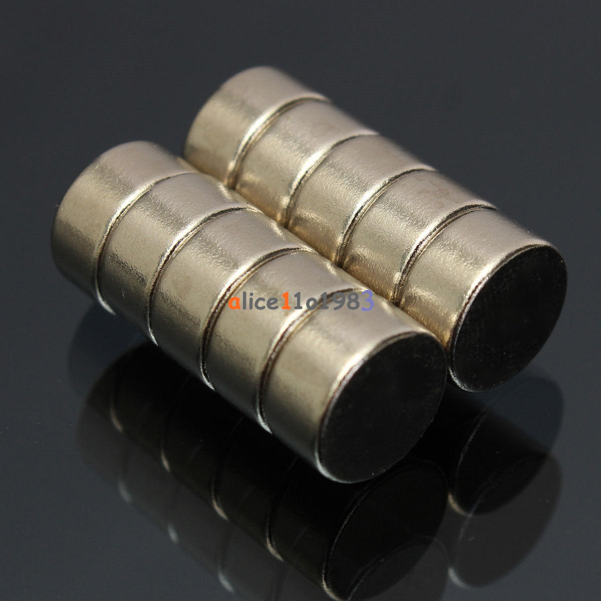 5-10PCS-Super-Round-Strong-Fridge-Magnets-Rare-Earth-Neodymium-Magnet-N50-N52 thumbnail 16