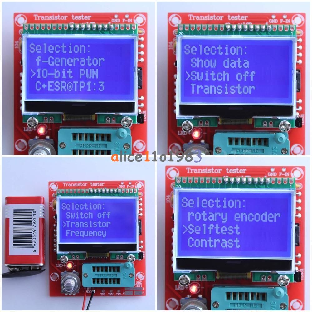 Transistor Tester Gm328a M328 M328lcd Mk 328 168 Lcr T4 T5 Ts In Circuit Schematic