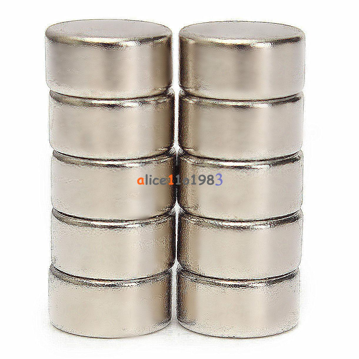 5-10PCS-Super-Round-Strong-Fridge-Magnets-Rare-Earth-Neodymium-Magnet-N50-N52 thumbnail 17