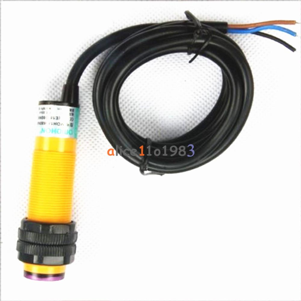 E18-D50NK-E18-D80NK-NPN-Adjustable-Infrared-Reflectance-Sensor-Switch-DIY-Kit thumbnail 13