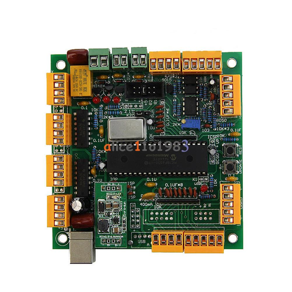 USBCNC 2.1 4 Axis USB CNC Controller Interface Board CNCUSB substitut