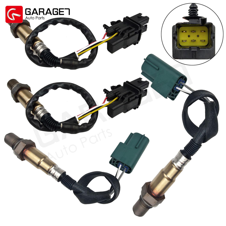 4PCS Front /& Rear Air Fuel Ratio Oxygen Sensor For 08-13 Nissan Titan Armada 5.6