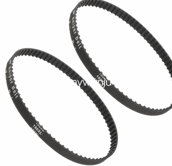 2 Timing BELTS 150XL037 75 Teeth Cogged Black Neoprene Rubber Belt USA