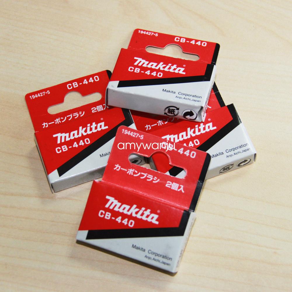 Makita Carbon Brushes for Electric Motors194427-5 BDF452HW BHP451 Drill//Driver