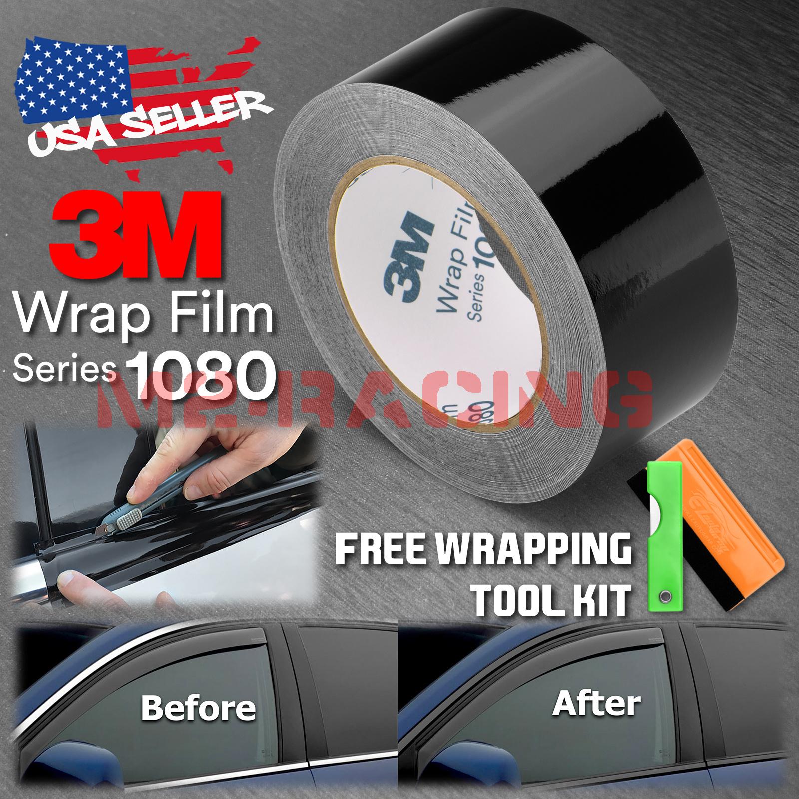Details about *3M 1080 Black Vinyl Wrap Kit for Black Out Chrome Delete  Window Trim Door Trim
