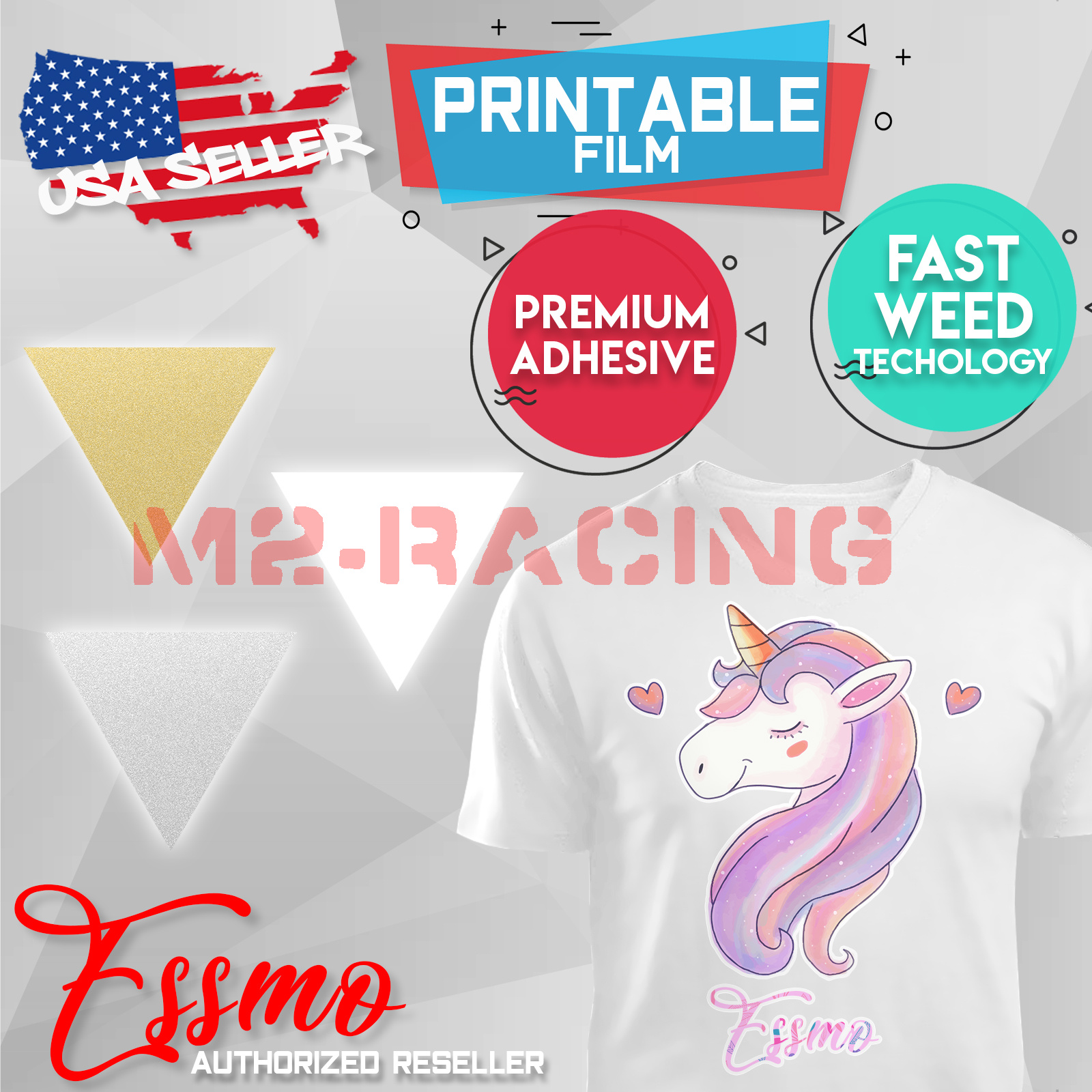 "picture relating to Heat Transfer Printable Vinyl called Data with regards to Essmoâ""¢ Printing Warm Go Vinyl HTV T-Blouse 20\"