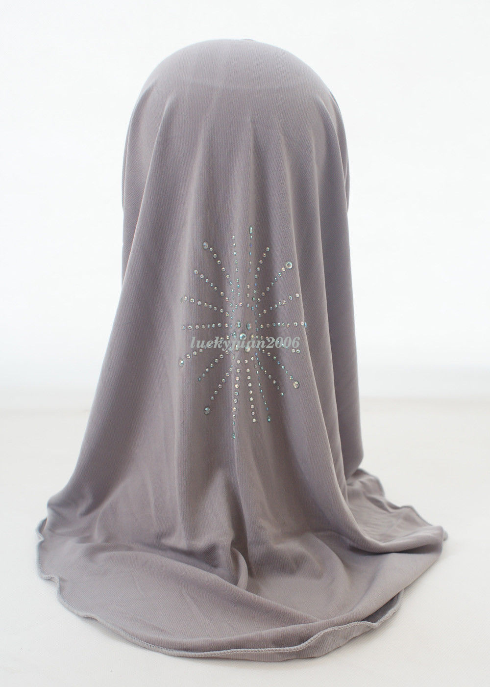 Girls-Kids-Muslim-Hijab-Hats-Islamic-Arab-Scarf-Caps-Shawls-Amira-Headwear-3-8Y thumbnail 56