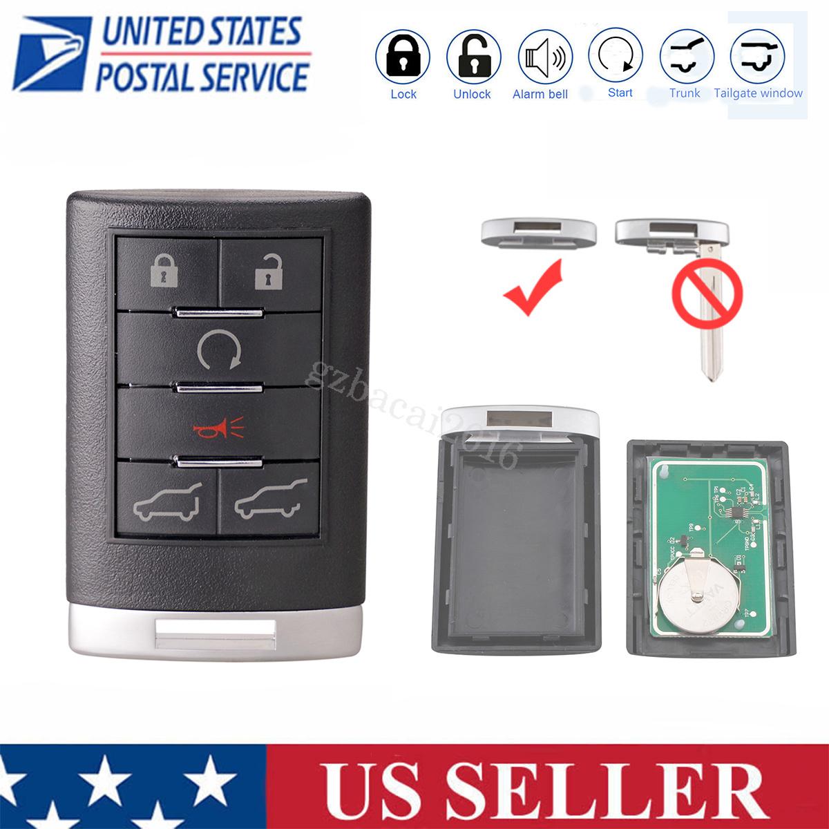 Remote for 2007 2008 2009 2010 2011 2012 2013 2014 Cadillac Escalade Keyless