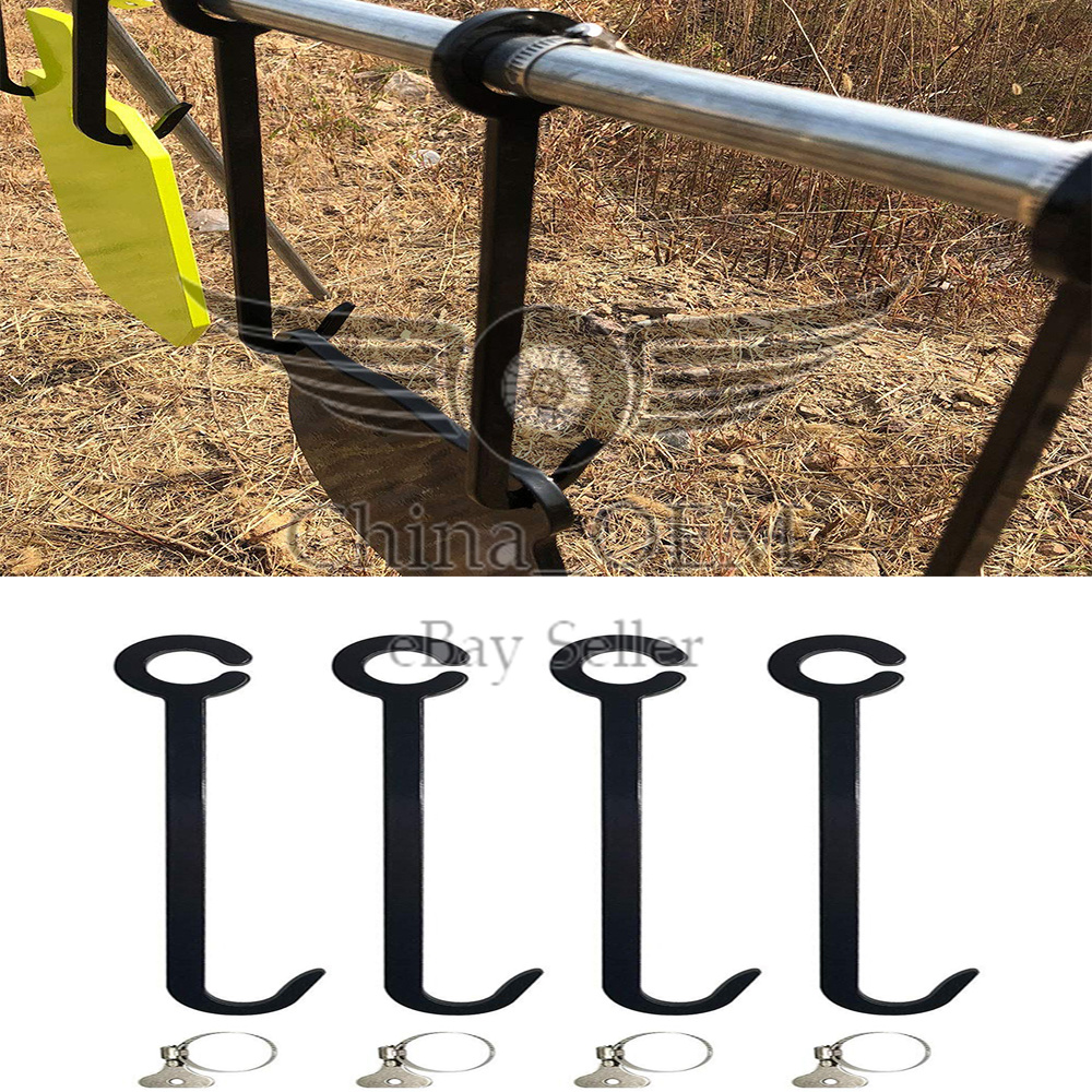 High Caliber Pipe Target Hanging Hook Assembly Stand for 1 Pipe