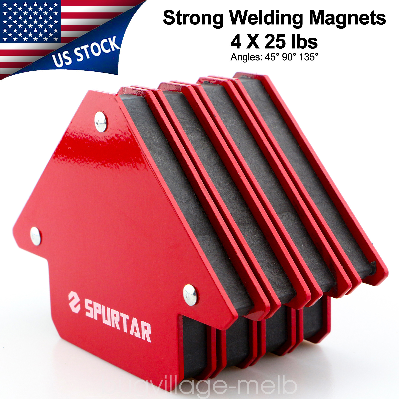25 LB WELDING MAGNET WORK // ANGLE  HOLDING MAGNET FREE SHIPPING