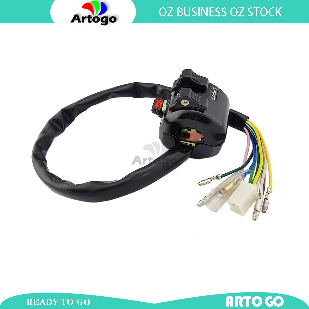78  LEFT HAND Switch Block Lights Horn Indicators    Yamaha