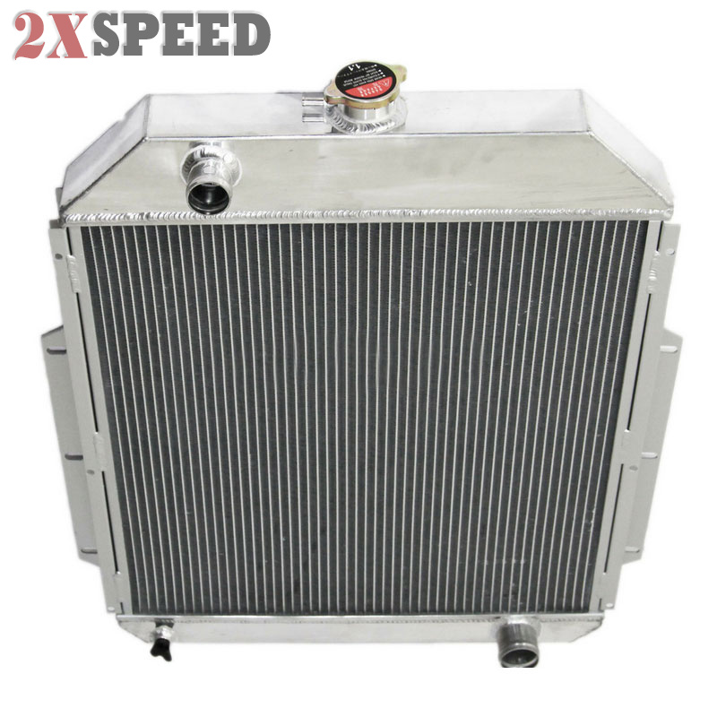 3 ROW Aluminum Radiator FOR 1942-52 Ford F1 F2 F3 F4 Pickup Truck V8 Engines PRO