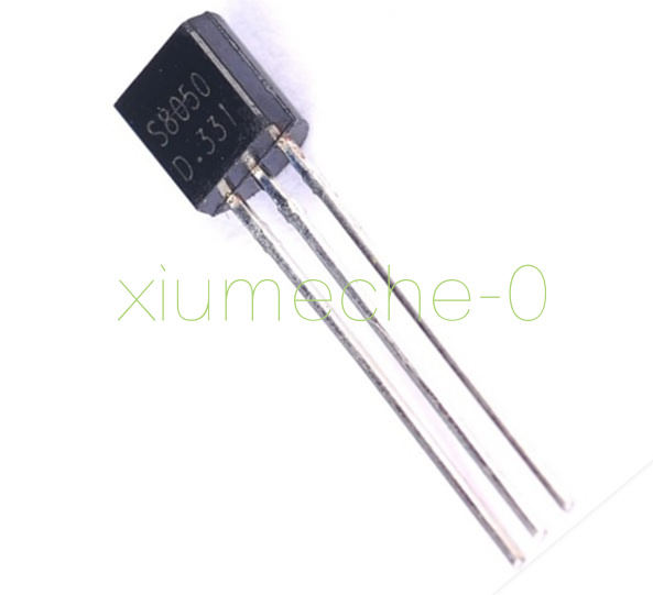 TO-92 25 Pieces E-Projects S8050 Transistor NPN