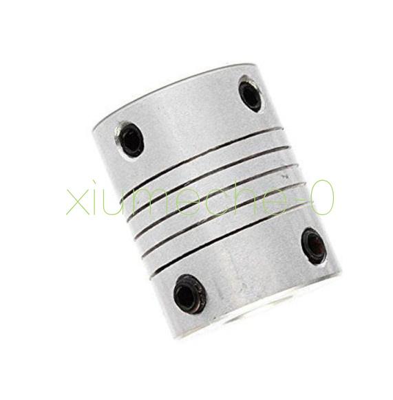 5mmx8mm CNC Motor 3D PrinterJaw Shaft Coupler 5mm-8mm Flexible Coupling 5x8mm K