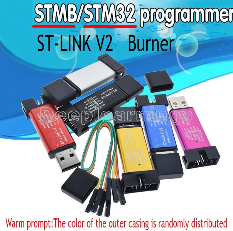 Development Programming Unit Mini Downloader STM8 STM32 Emulator ST-Link V2