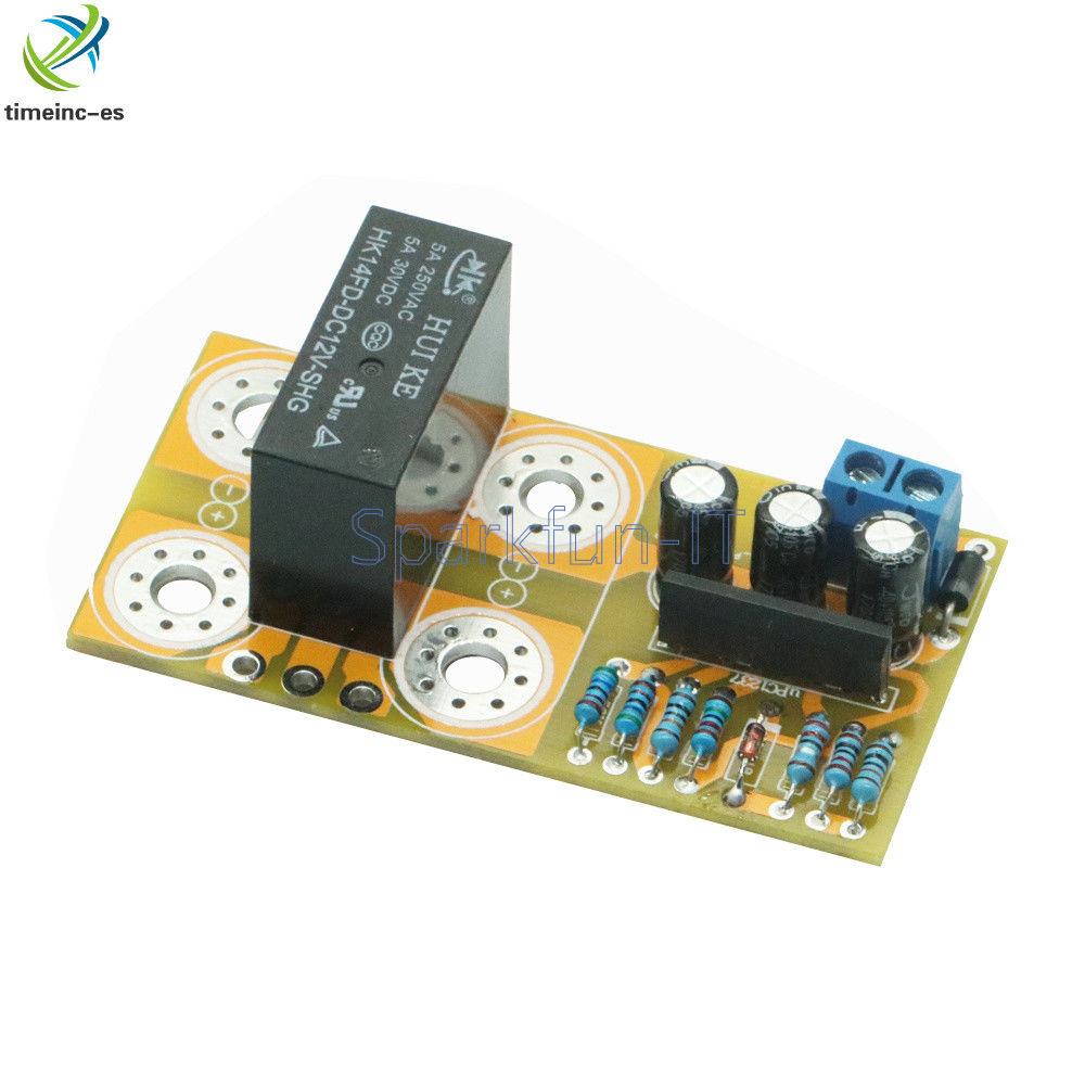 Dual channel UPC1237 Speaker Protection Assembled Board Boot Delay DC Protection