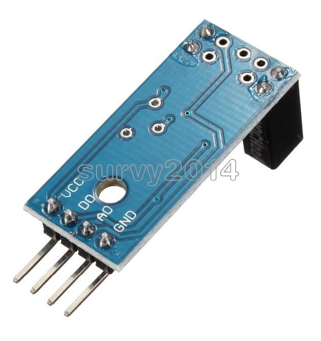 AVR 51 Slot Type IR Optocoupler Speed Sensor Module LM393 for Arduino PIC