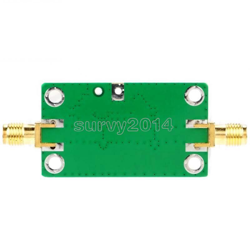 0.1-2000MHz Gain 60dB Low Noise Broadband RF Amplifier Signal Amplifier 0.1~2GHz