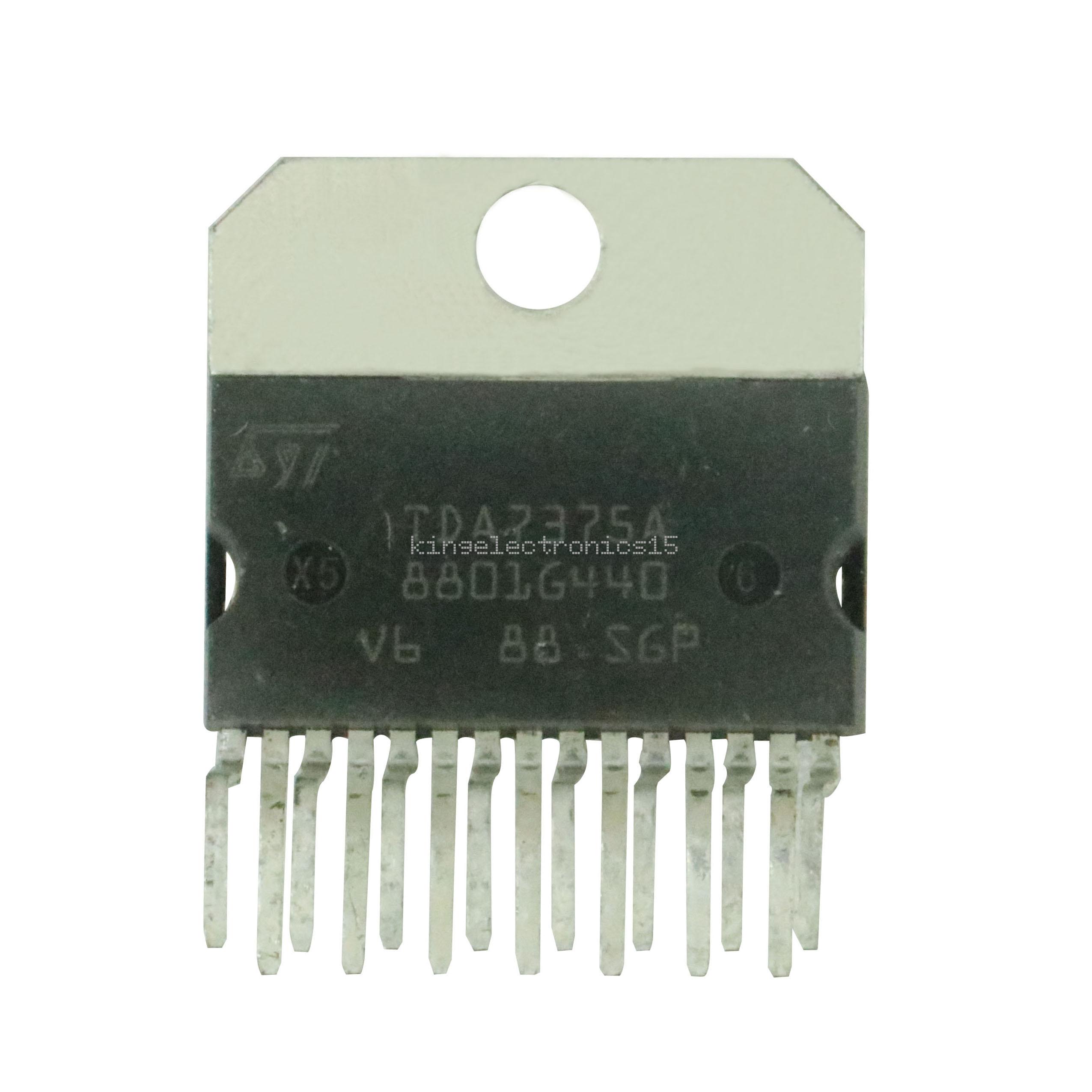 5PCS IC TDA7375 TDA7375A ZIP-15 ST NEW GOOD QUALITY