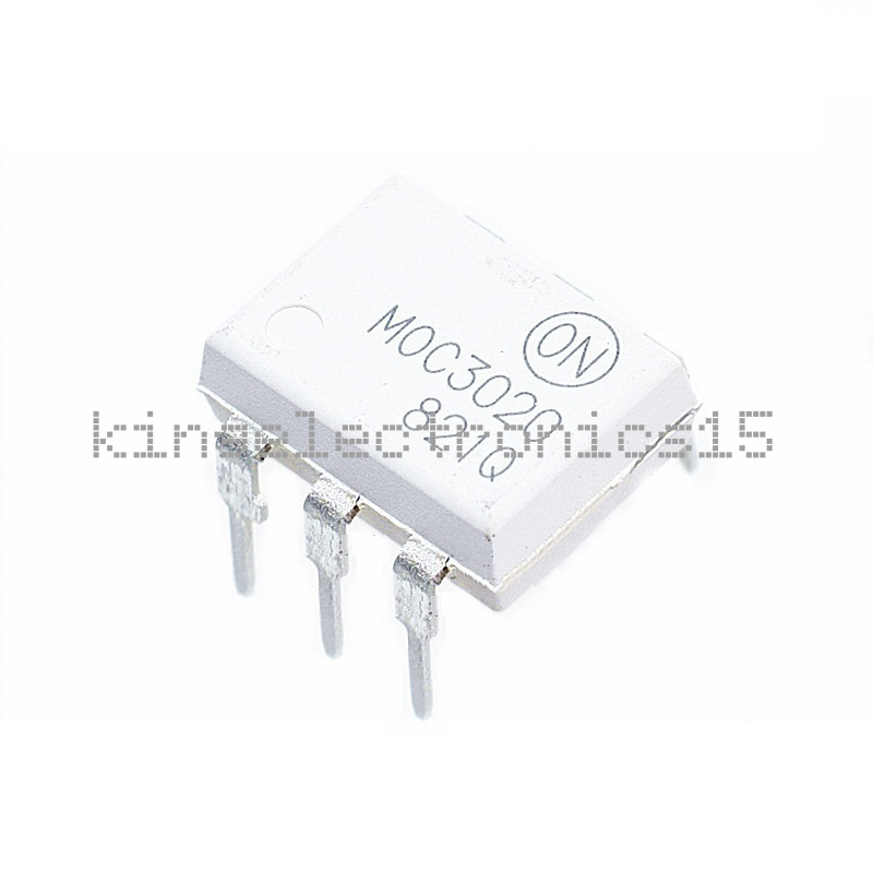2PCS original DIP-6 MOC3020 Optoisolators Transistor Output FAIRCHILD CA NEW