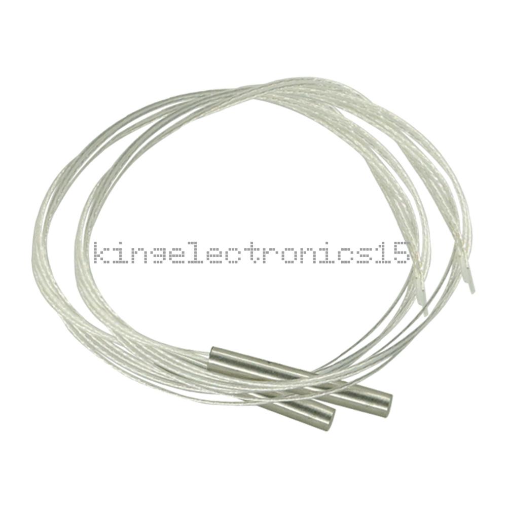 2pcs PT100 Temperature sensor waterproof platinum resister thermal resistance HN
