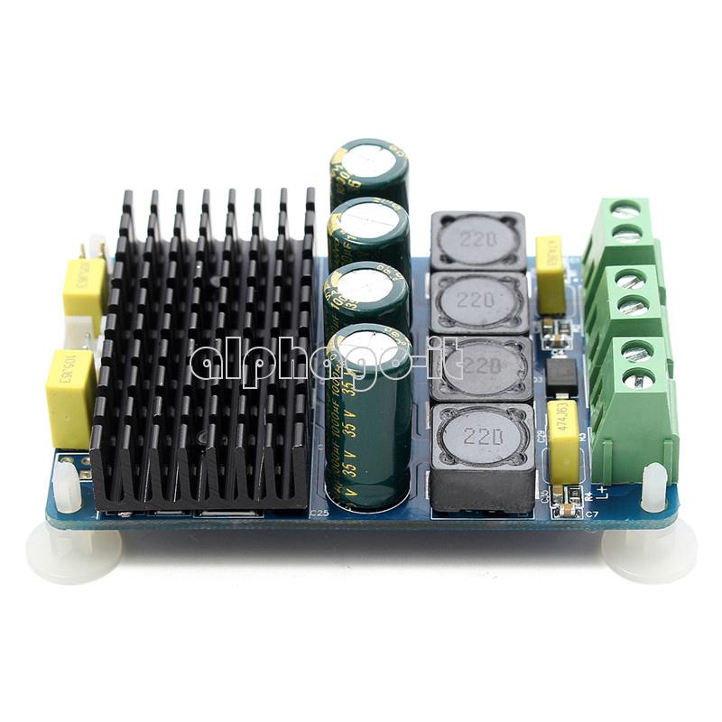 TDA7498 2*100W Dual Channel Power Class D Audio Digital Amplifier Board ModuleBU