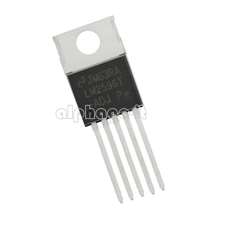 10PCS IC LM2596T-ADJ LM2596 NSC TO-220 Voltage Regulator 3A Adjustable
