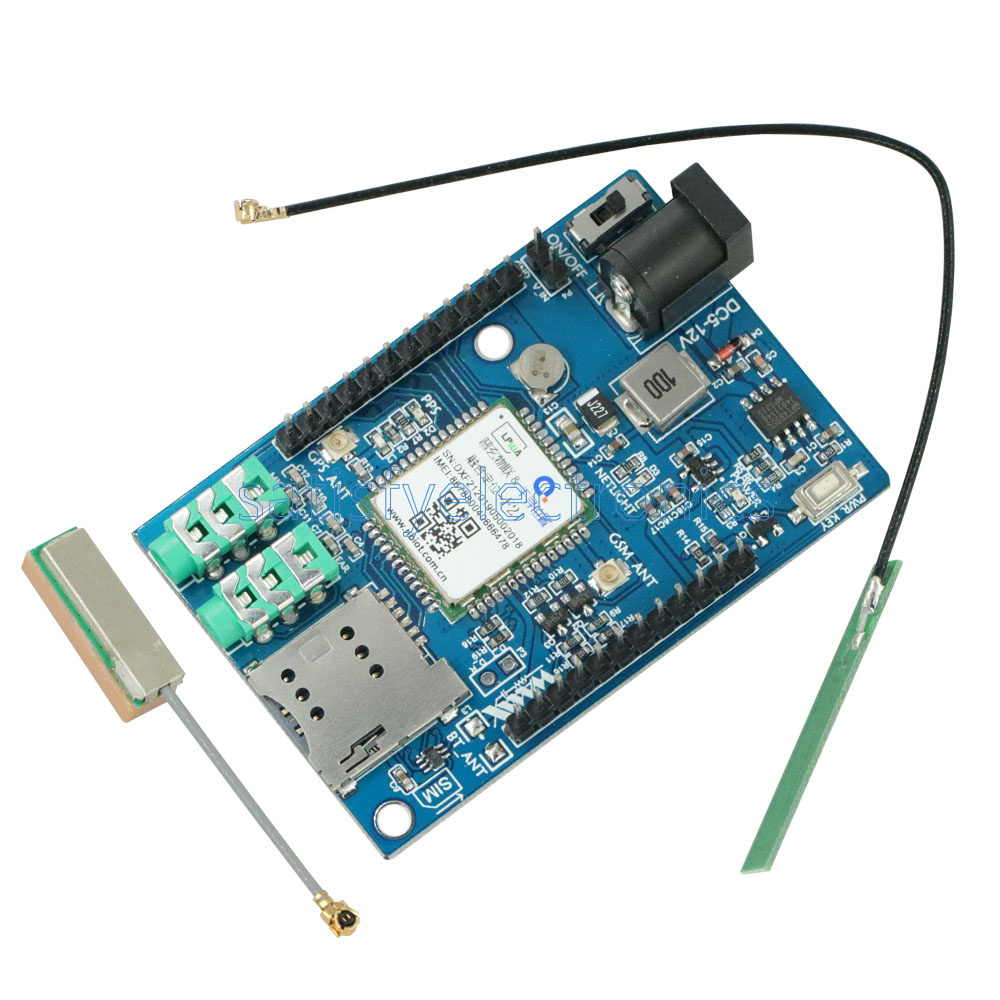 Details about GPS GSM GPRS A7 Module SMS Voice Development Minimum System  Board for STM32 51