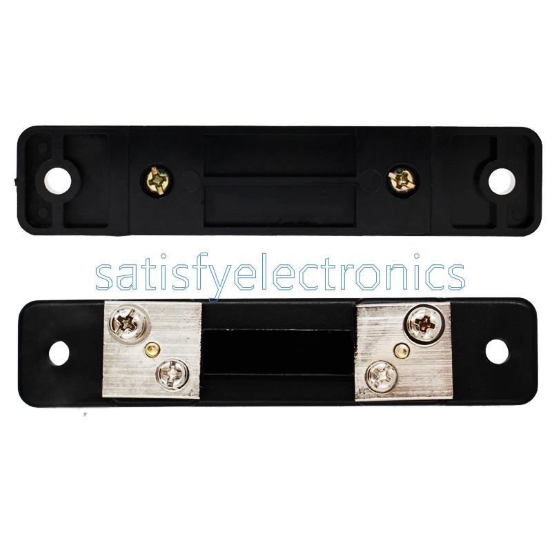 1PCS FL-2 50A 75MV DC Current Shunt Resistor For Ampere Panel Meter