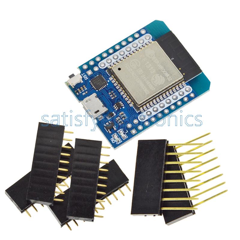 Wemos Mini D1 ESP8266 CP2104 ESP32//32S WIFI/&Bluetooth Development Board Module
