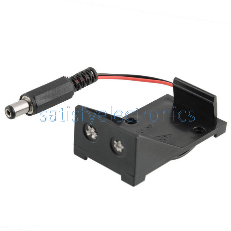 1pcs 9V battery holder box case wire plug for Arduino R3 QN