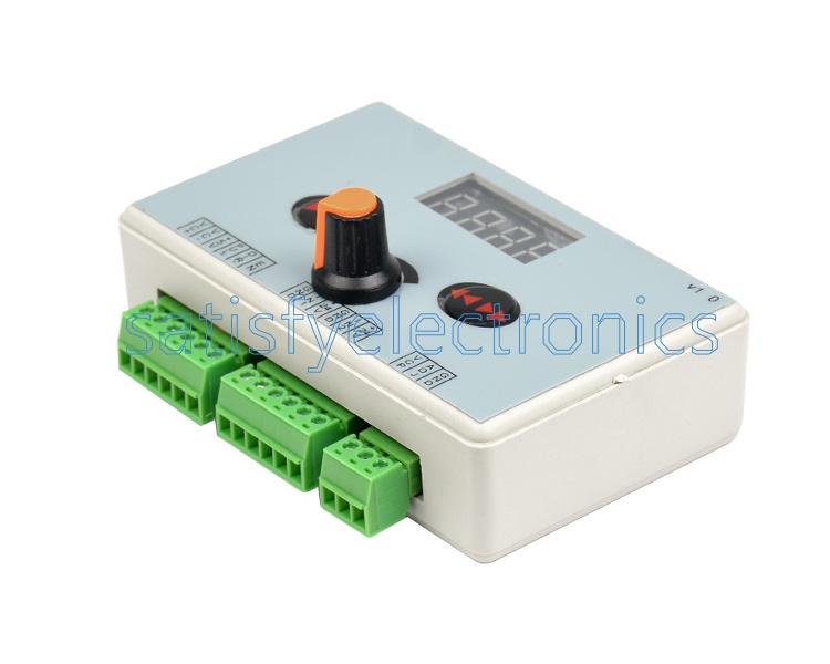 stepping Pulse Signal Controller Reversible Stepper Motor Speed Regulator