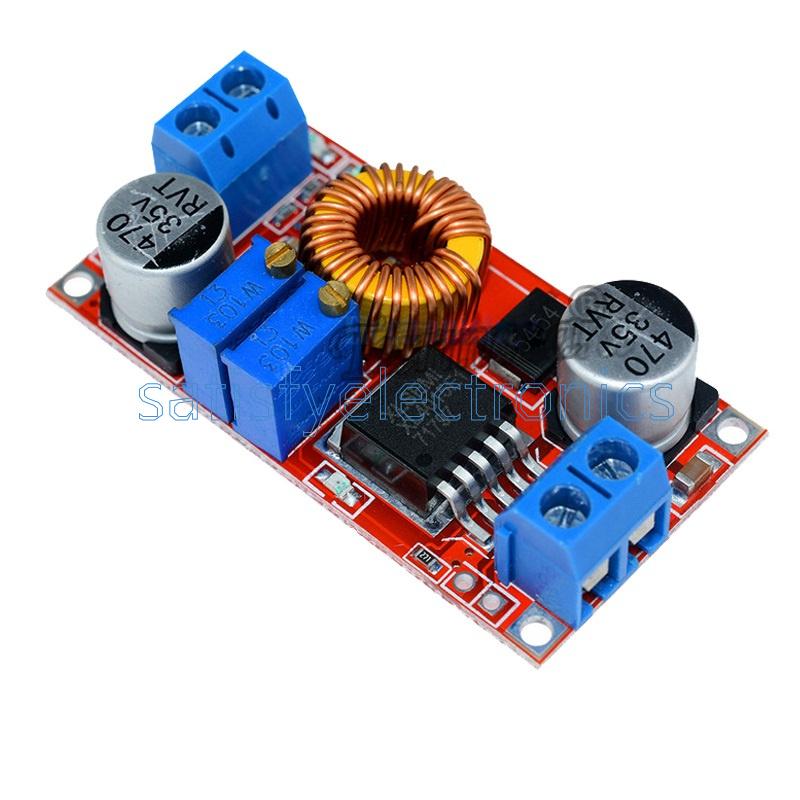 1pcs 5A DC to DC CC CV Lithium Battery Charging Board Led drive power converter