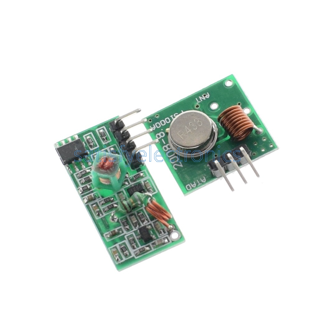 2PCS 433Mhz RF transmitter and receiver link kit for Arduino//ARM//MCU