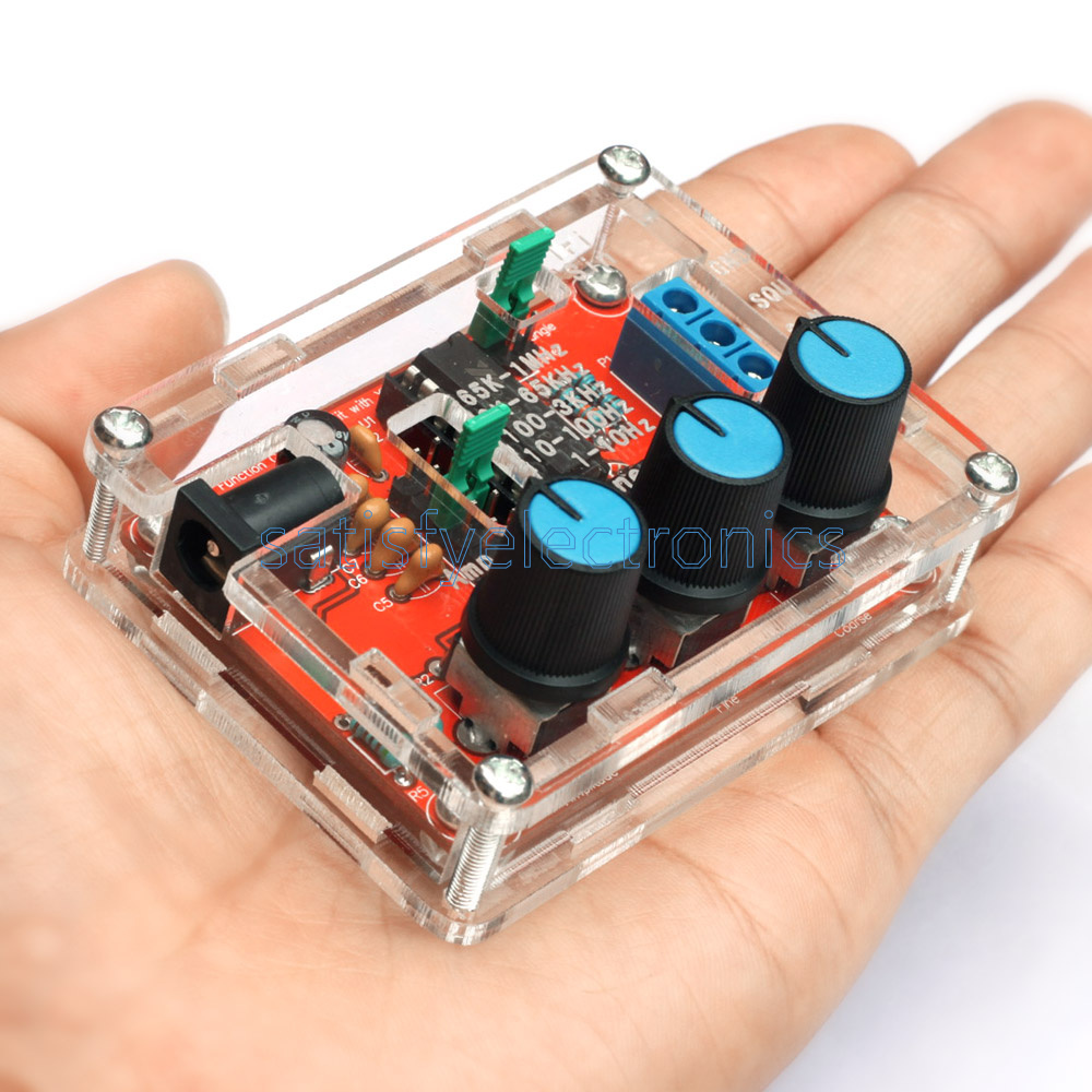 Triangle Square Output 1HZ-1MHZ XR2206 Function Signal Generator DIY Kit Sine