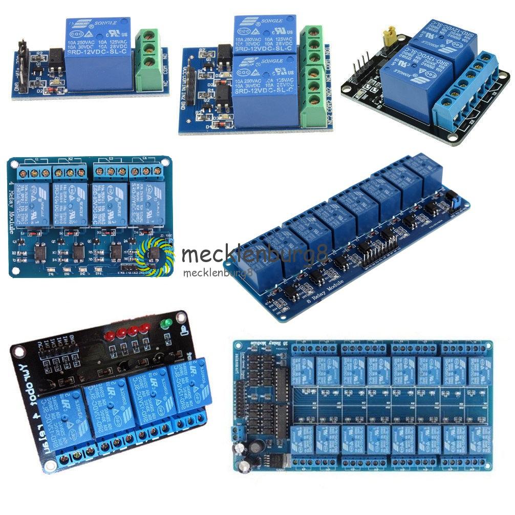 DC 5V 2 Kanal Relay Modul mit Optocoupler Controller sind Arduino PIC ARM PLC
