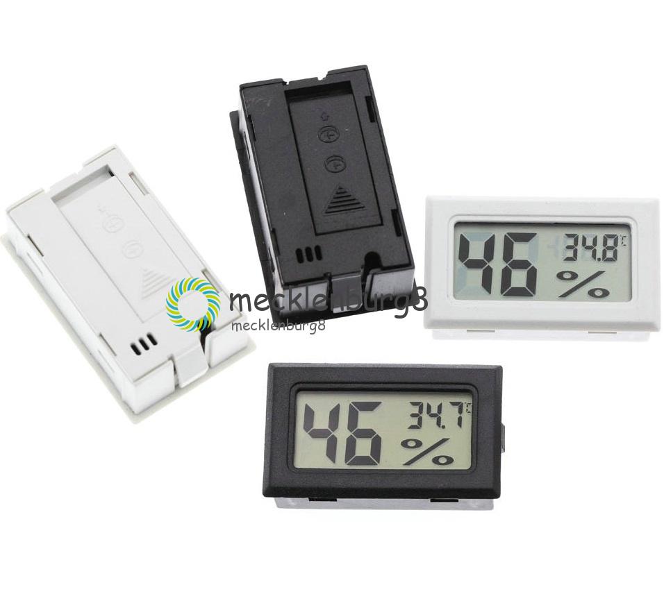 LCD Digital Thermometer Hygrometer Innen Außen nalog Luftfeuchte Kombithermomete