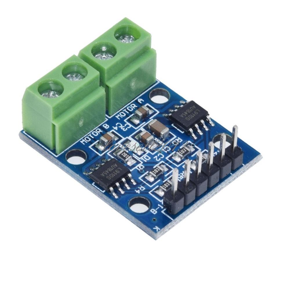 1X L9110S H-bridge Stepper Motor Dual DC  Driver Controller Board for Arduino JH