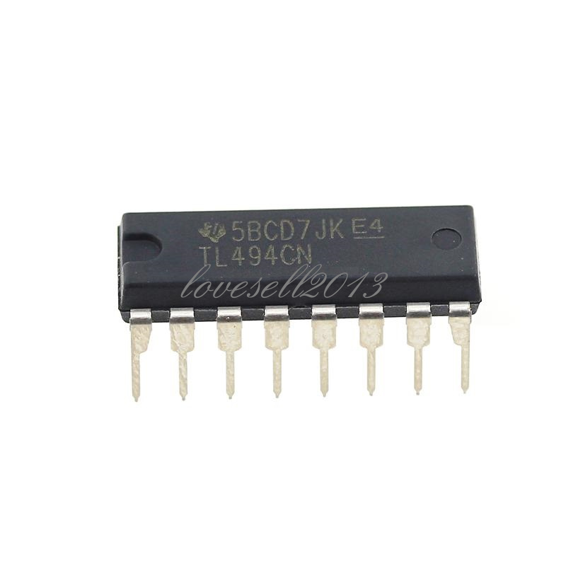 5PCS TL494CN TL494 DIP-16 TI PWM Power Supply Controllers IC