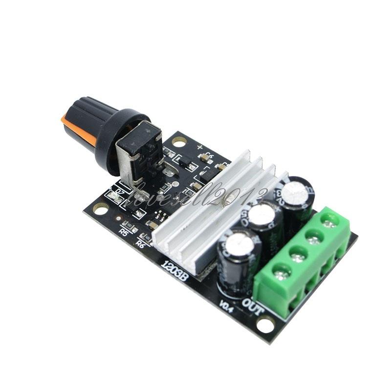 DC 6V 28V 3A PWM Motor Speed Varible Regulator Controller Switch