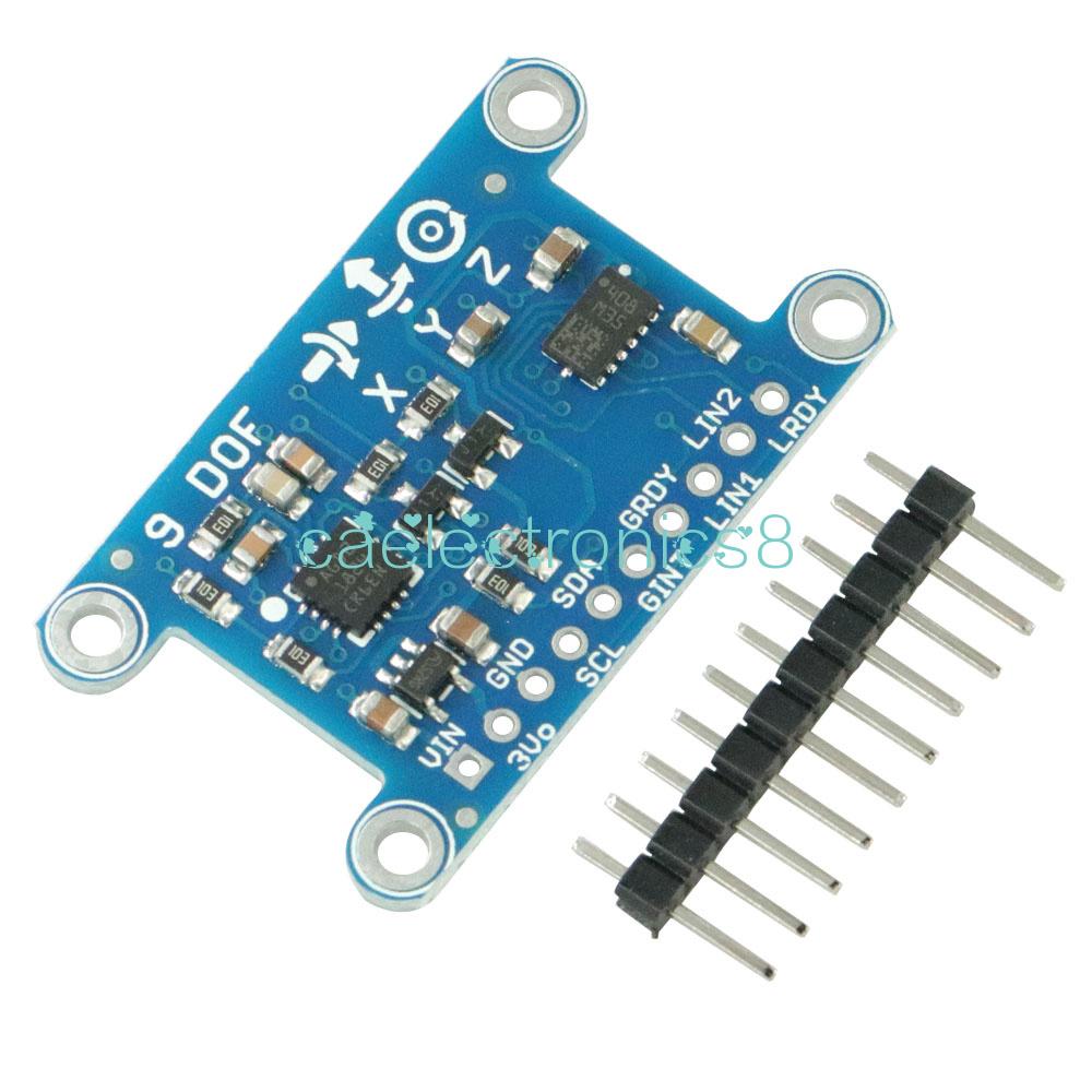 Arduino 9 Axis IMU L3GD20 LSM303D Module 9DOF Compass Acceleration Gyroscope