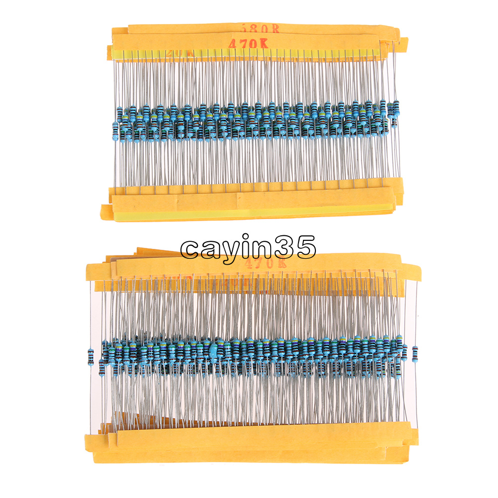 1//4w Resistance 1/% Metal Film Resistor Bag 30 kinds Each 20 Total 600pcs TOP ST