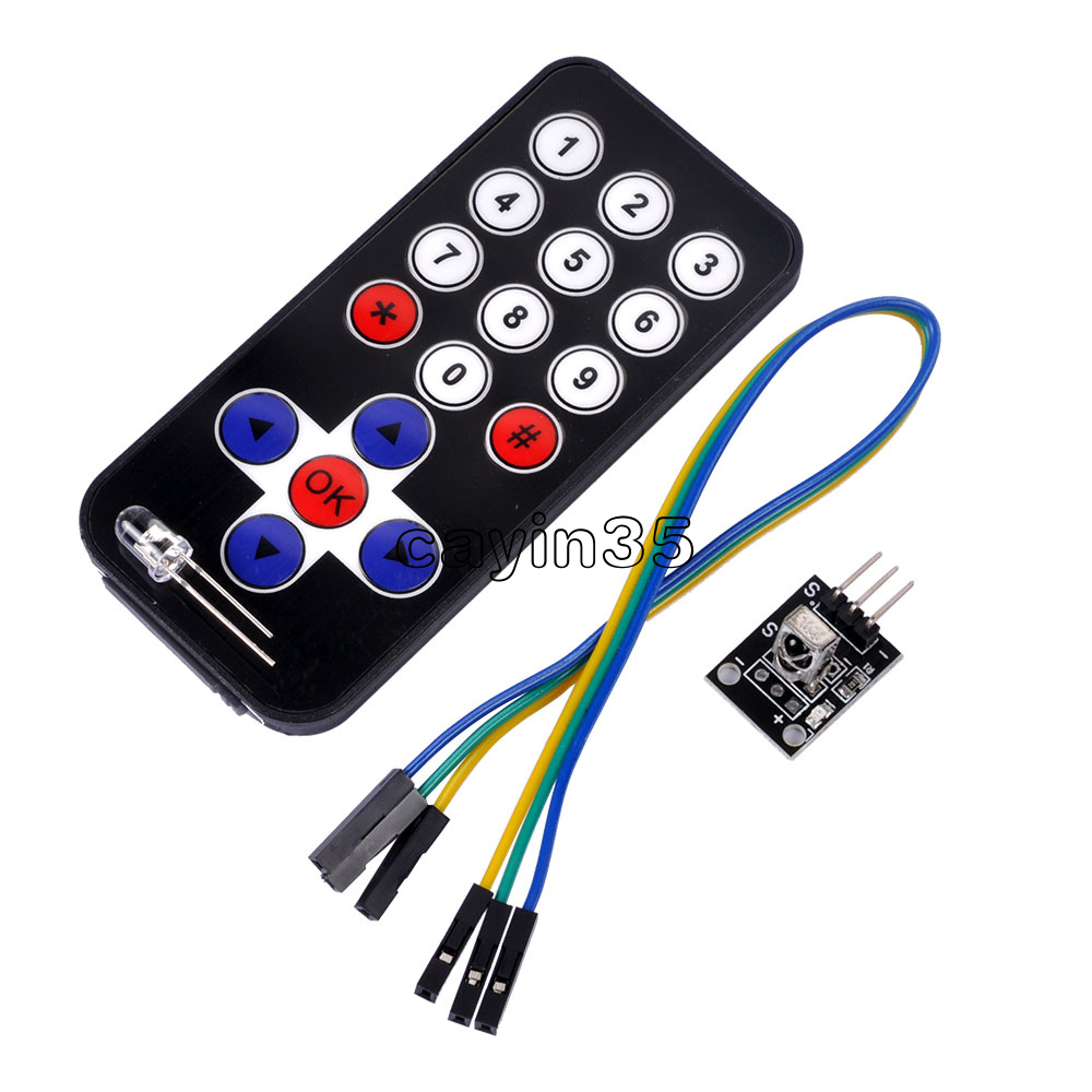 Details about HX1838 Infrared IR Wireless Remote Control Module VS1838 For  Arduino DIY Kits