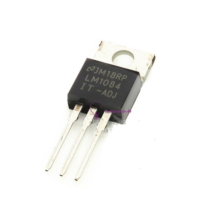 2Pcs LM1084 LM1084IT-ADJ NSC TO220 IC REG LDO ADJ 5A NEW