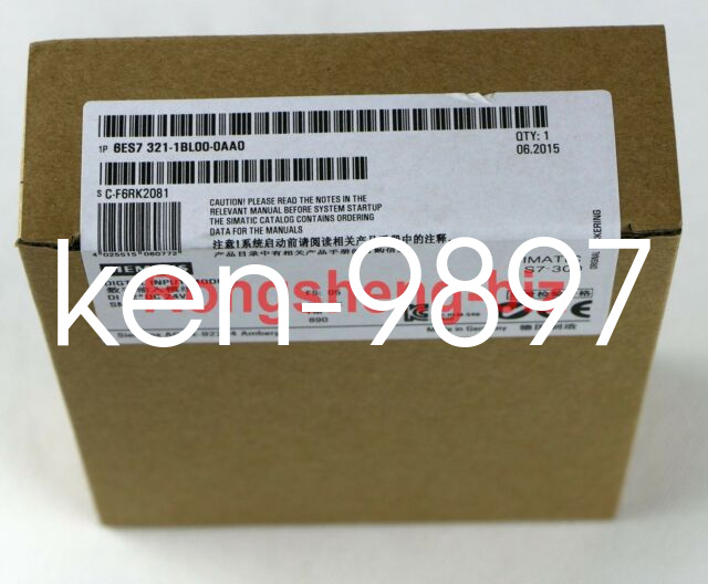1PC SIEMENS SM321 6ES7 321-1BL00-0AA0 6ES7321-1BL00-0AA0 New In Box