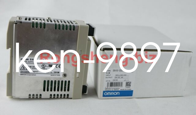 New 1Pcs Omron Power Supply S8VS-12024 100-240V 24Vdc ie