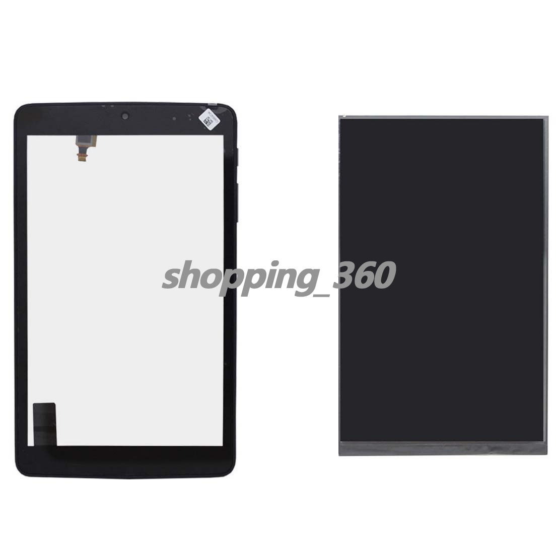 Details about For T-Mobile Alcatel A30 8'' 9024W LCD Screen +Touch  Digitizer Frame black USPS