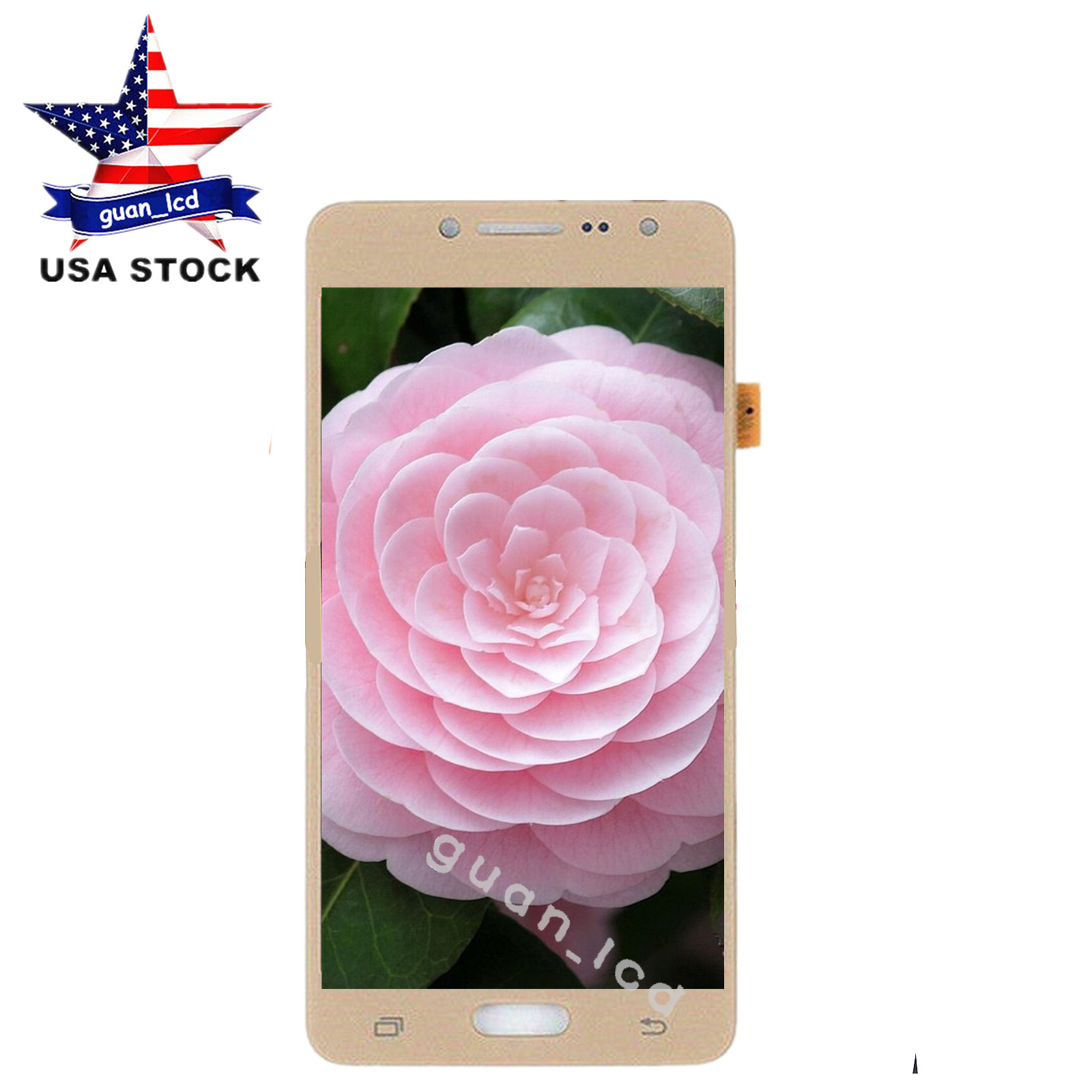 Touch Panel Screen LCD Screen and Digitizer Full Assembly for Galaxy J2 Prime SM-G532F Color : Rose Gold