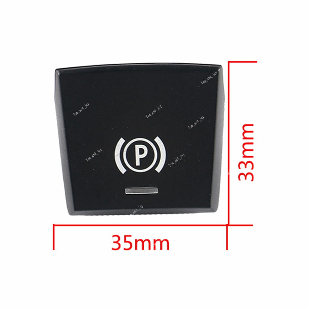 Parking Brake P Button Switch Cover For BMW 5 7 F01 F02 F07 F10 F11 2014-2017