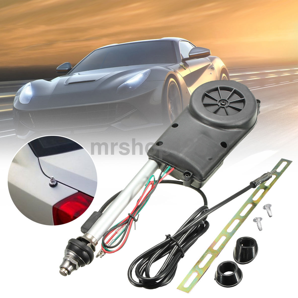 Power Antenna Replacement 40v Electric Car Radio Kit Fit ...